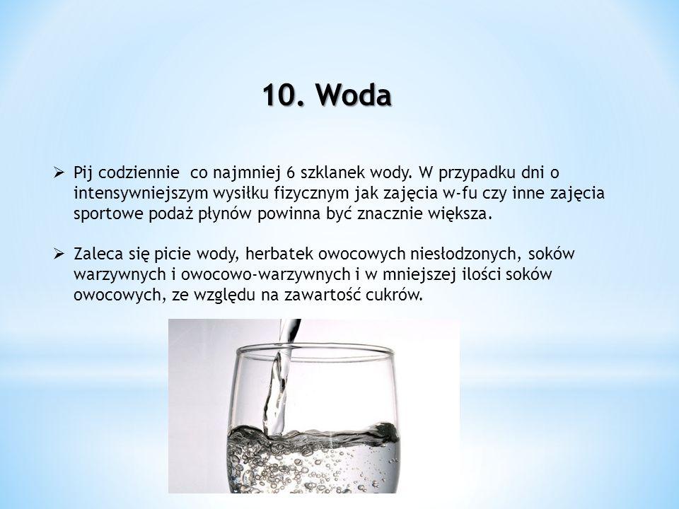 10. Woda