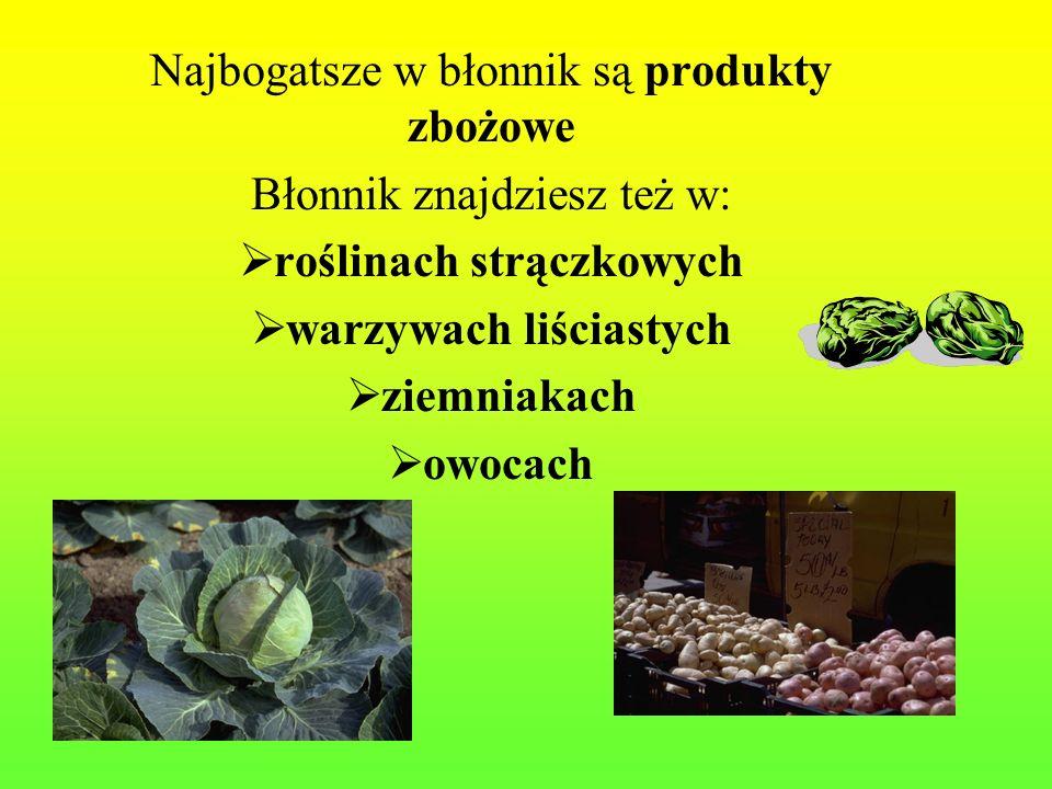 roślinach strączkowych warzywach liściastych