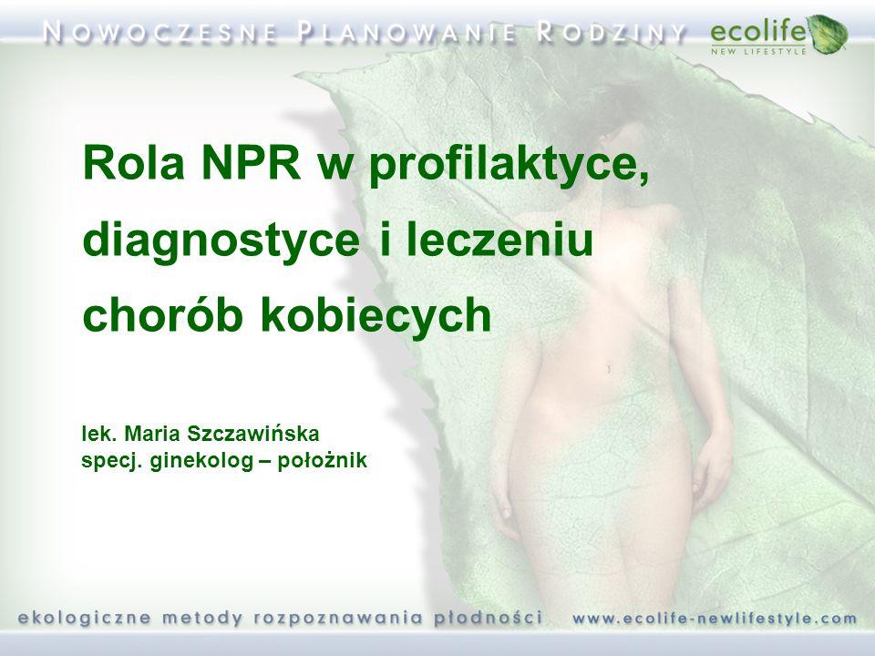 Rola NPR w profilaktyce, diagnostyce i leczeniu chorób kobiecych