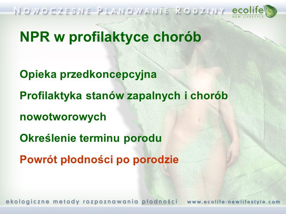 NPR w profilaktyce chorób