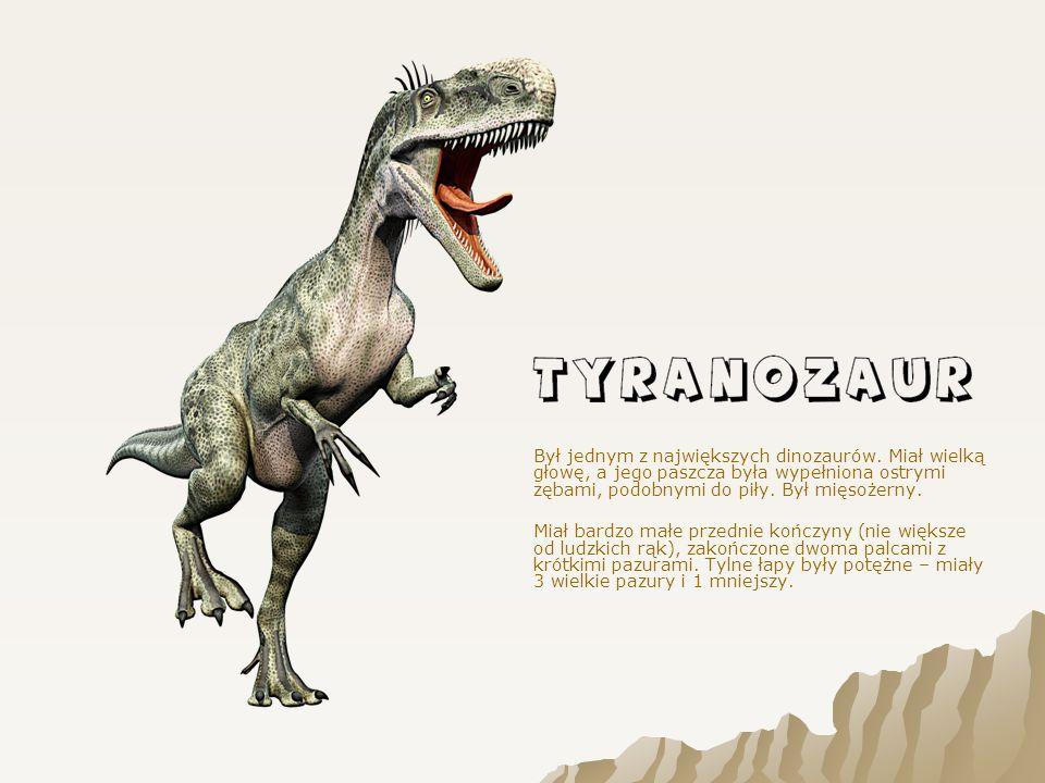 Był jednym z największych dinozaurów