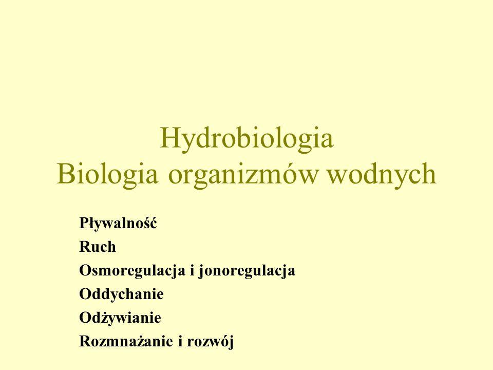 Hydrobiologia Biologia organizmów wodnych