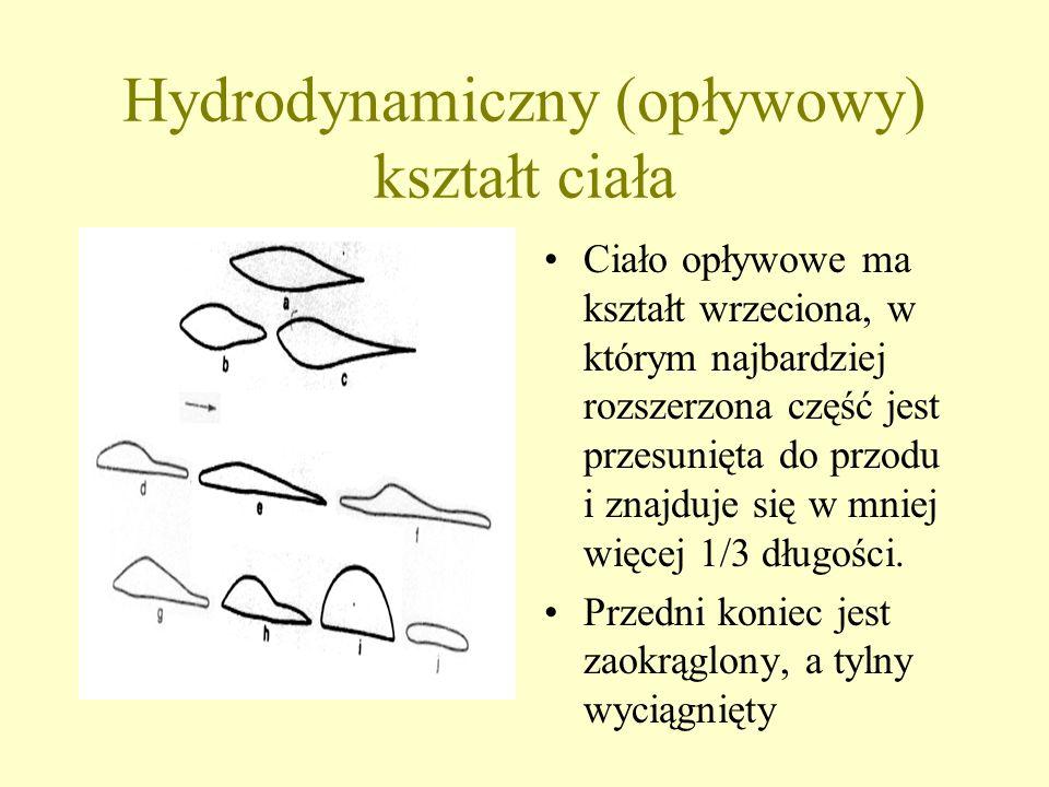 Hydrodynamiczny (opływowy) kształt ciała