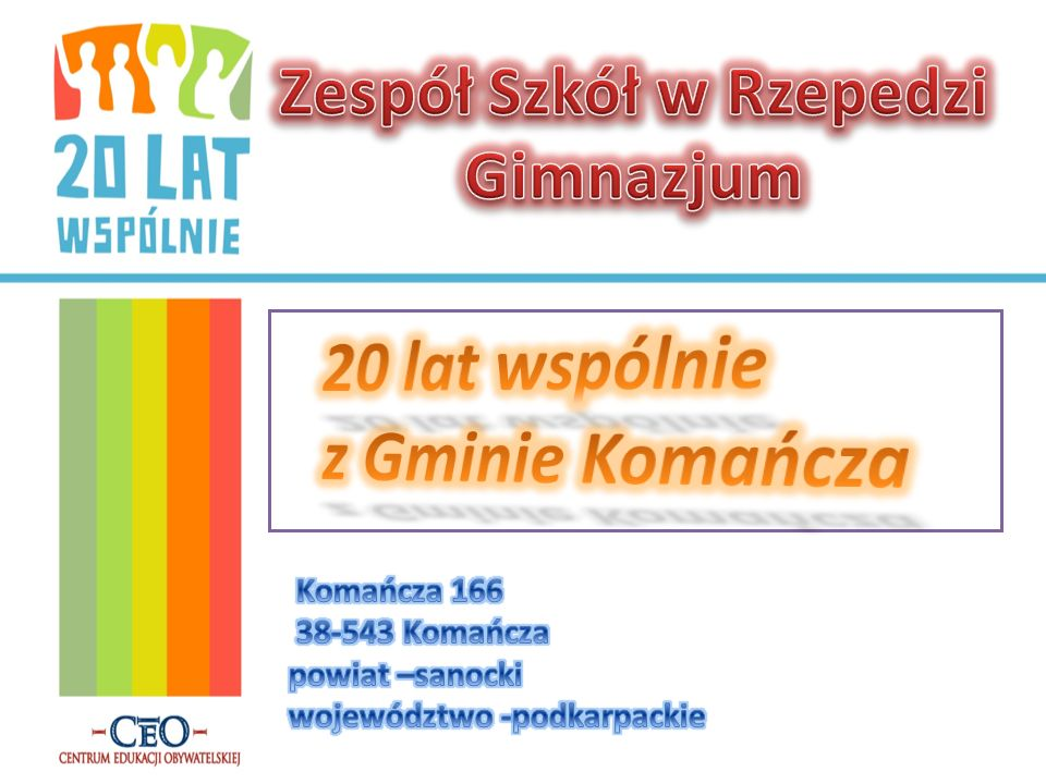 Zespół Szkół w Rzepedzi Gimnazjum