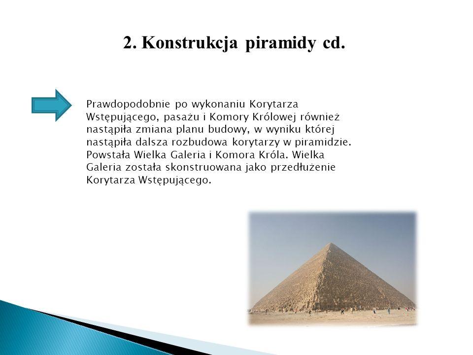 2. Konstrukcja piramidy cd.