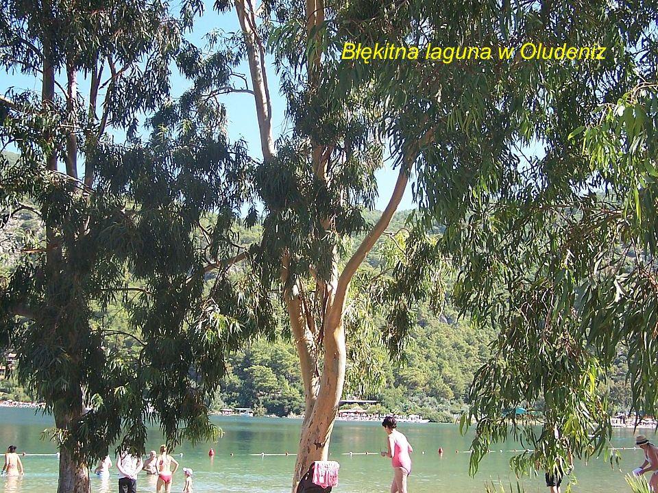Błękitna laguna w Oludeniz