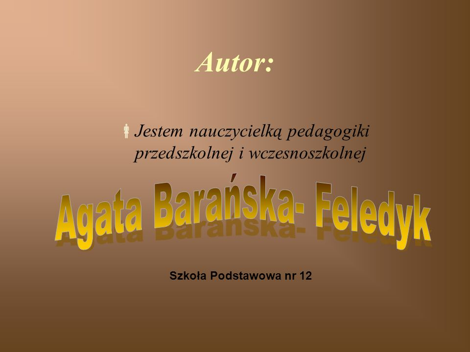 Agata Barańska- Feledyk