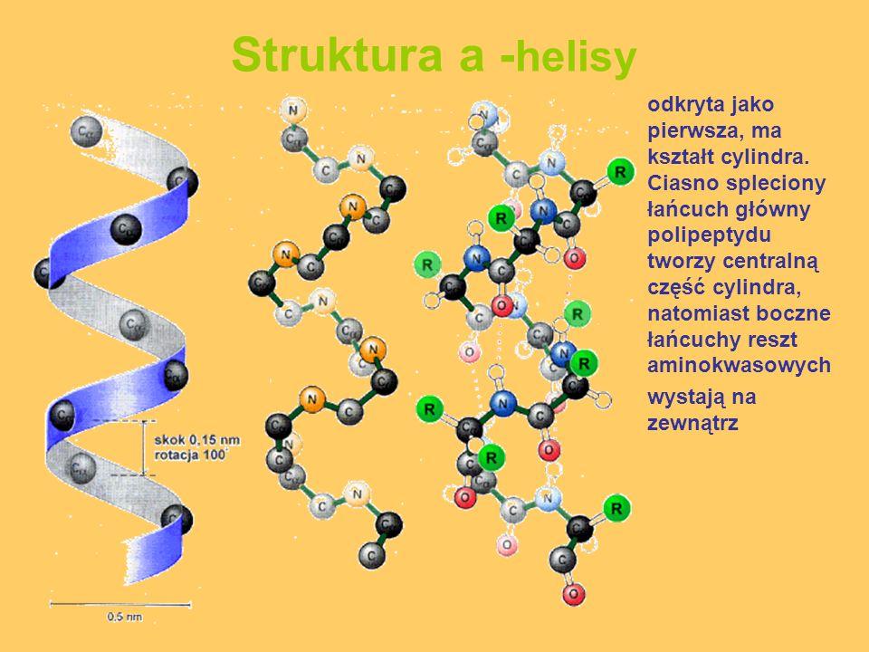 Struktura a -helisy