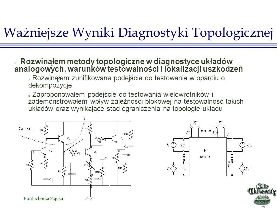 Ważniejsze Wyniki Diagnostyki Topologicznej