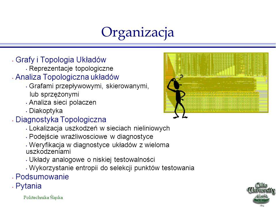 Organizacja Grafy i Topologia Układów Analiza Topologiczna układów