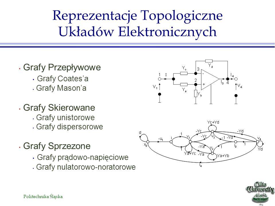 Reprezentacje Topologiczne Układów Elektronicznych