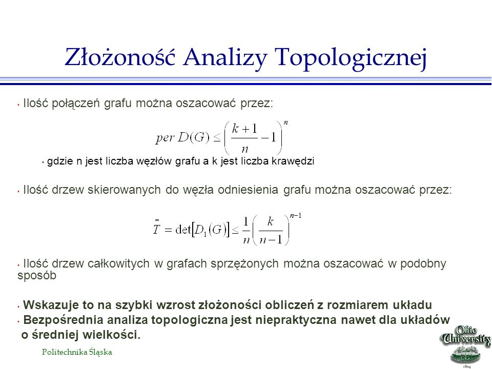 Złożoność Analizy Topologicznej