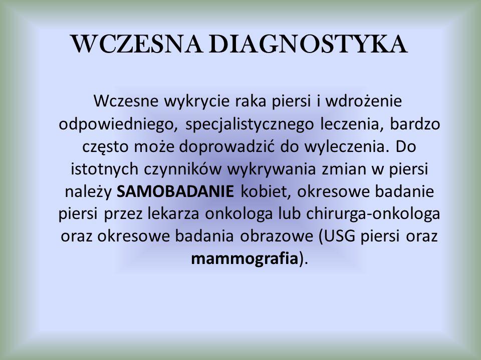 WCZESNA DIAGNOSTYKA