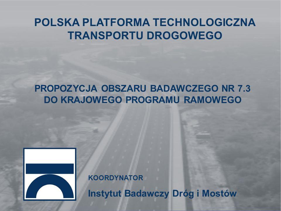 POLSKA PLATFORMA TECHNOLOGICZNA TRANSPORTU DROGOWEGO