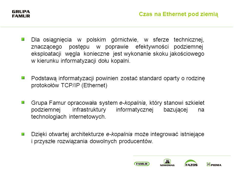 Czas na Ethernet pod ziemią