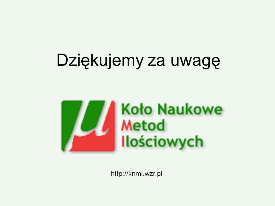 Dziękujemy za uwagę http://knmi.wzr.pl