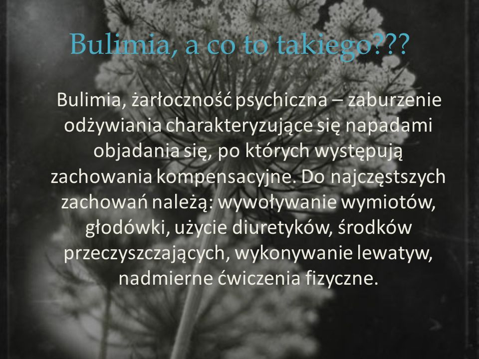 Bulimia, a co to takiego