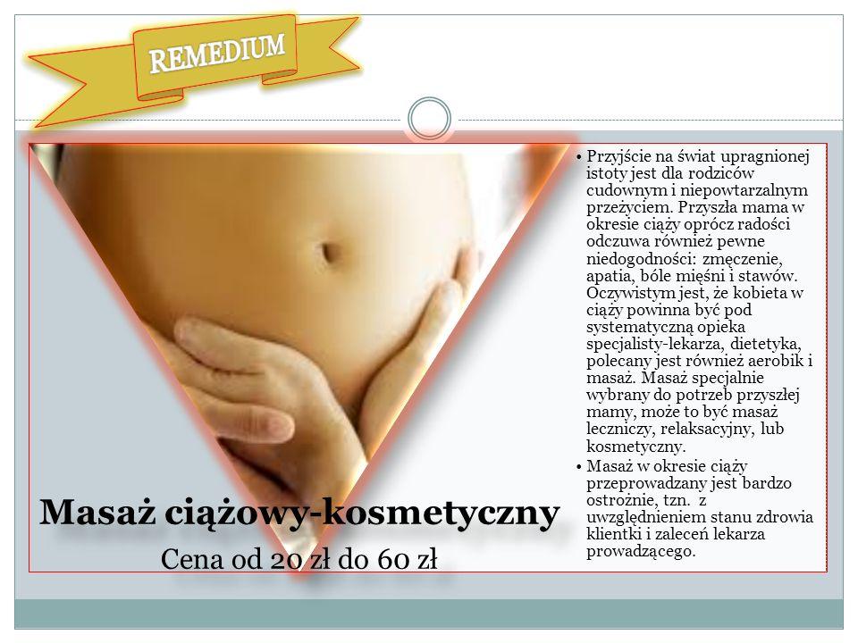 Masaż ciążowy-kosmetyczny