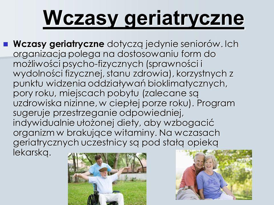Wczasy geriatryczne