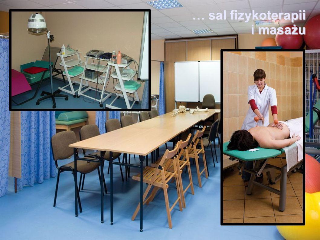 … sal fizykoterapii i masażu