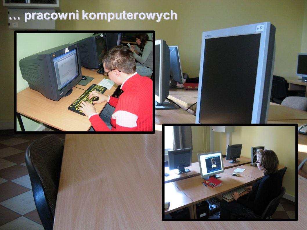 … pracowni komputerowych