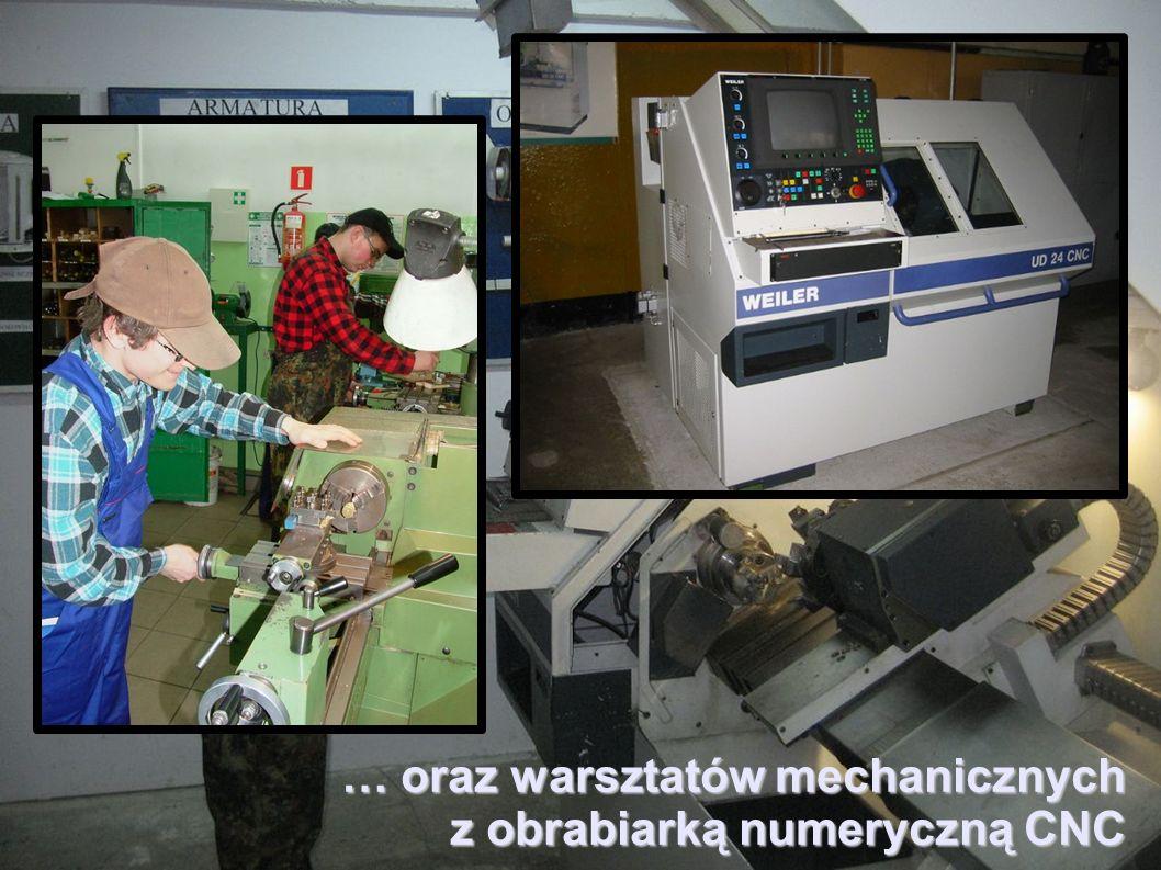 … oraz warsztatów mechanicznych
