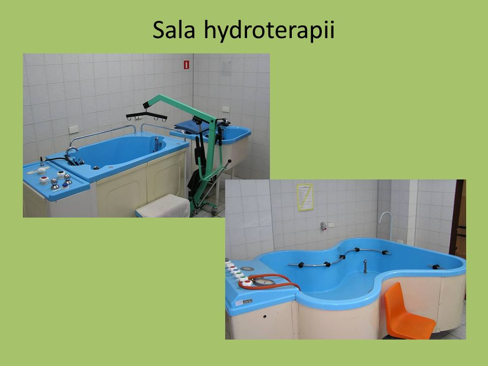 Sala hydroterapii