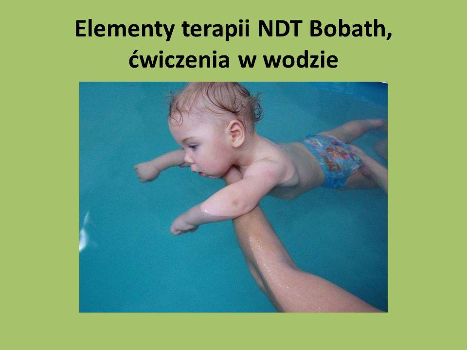 Elementy terapii NDT Bobath, ćwiczenia w wodzie
