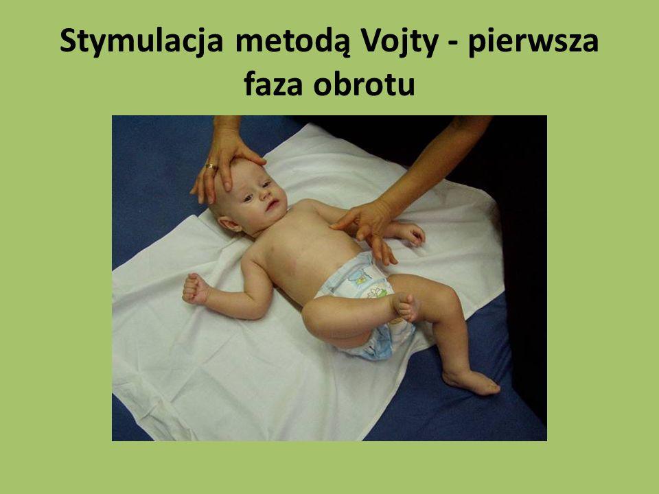 Stymulacja metodą Vojty - pierwsza faza obrotu