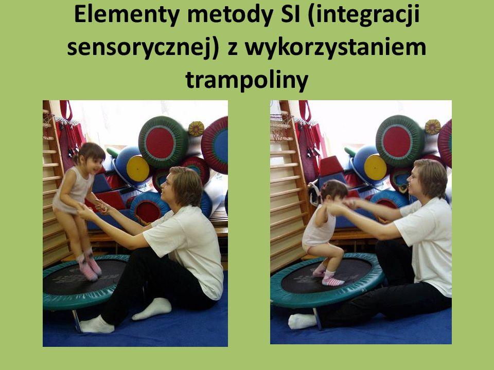 Elementy metody SI (integracji sensorycznej) z wykorzystaniem trampoliny