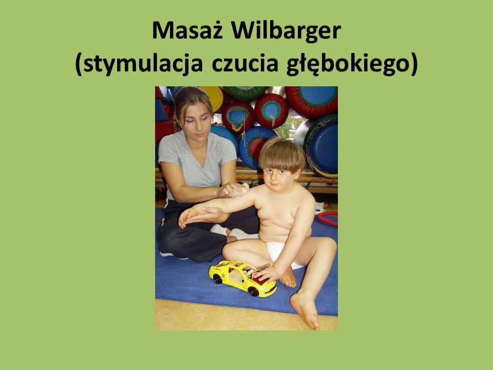 Masaż Wilbarger (stymulacja czucia głębokiego)