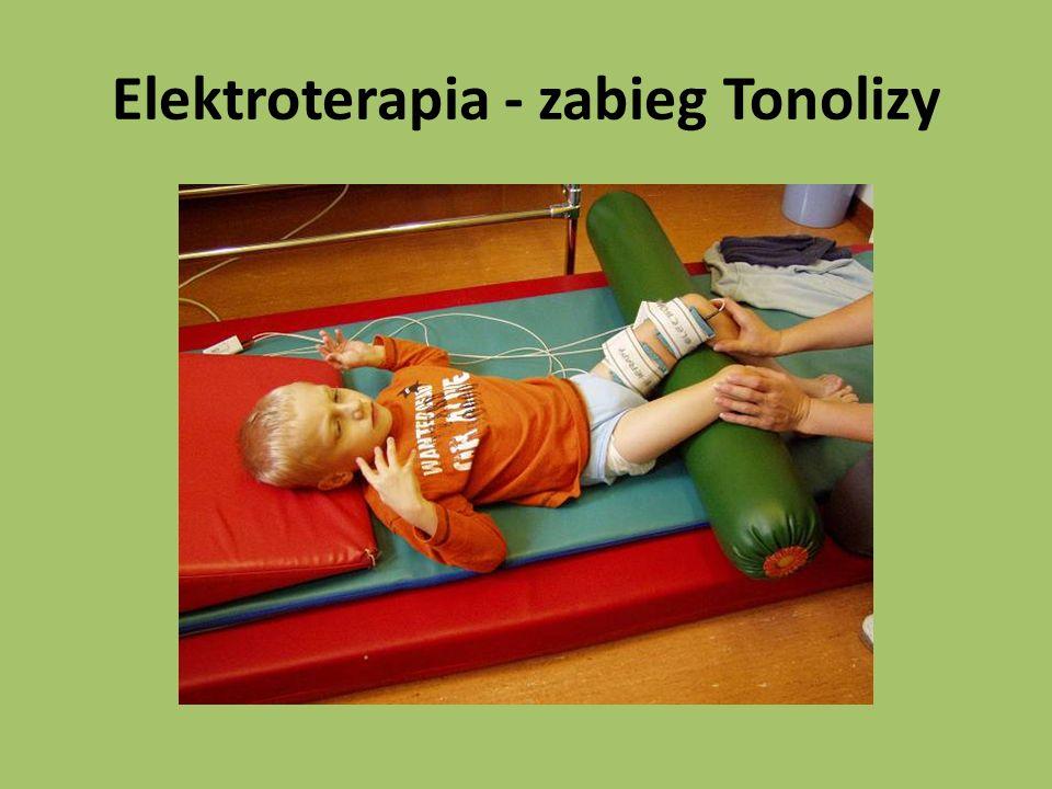 Elektroterapia - zabieg Tonolizy