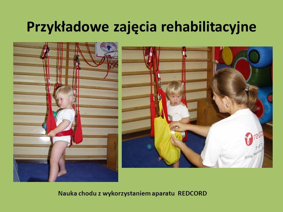 Przykładowe zajęcia rehabilitacyjne