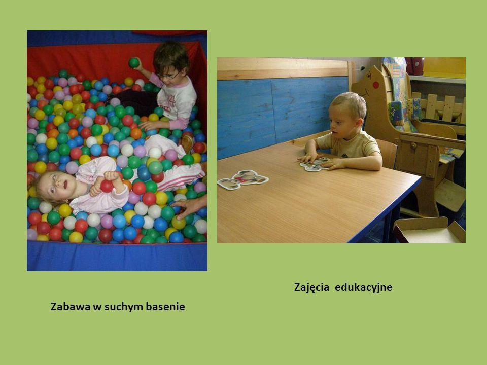 Zajęcia edukacyjne Zabawa w suchym basenie
