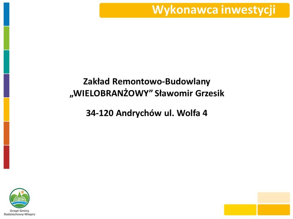 """Zakład Remontowo-Budowlany """"WIELOBRANŻOWY Sławomir Grzesik"""