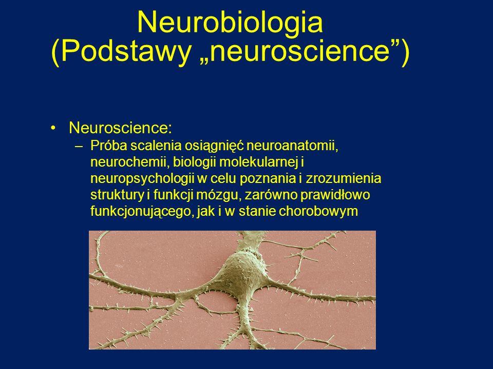 """Neurobiologia (Podstawy """"neuroscience )"""