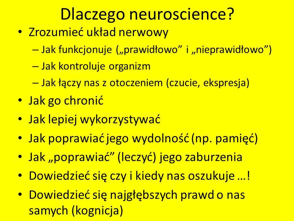 Dlaczego neuroscience