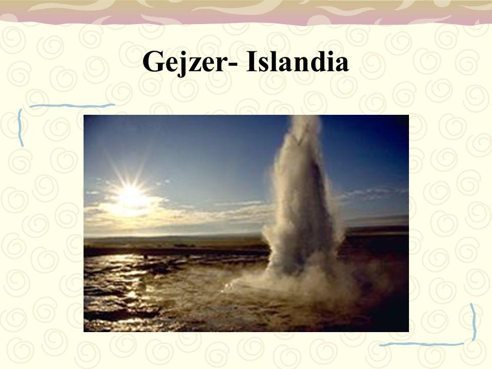 Gejzer- Islandia