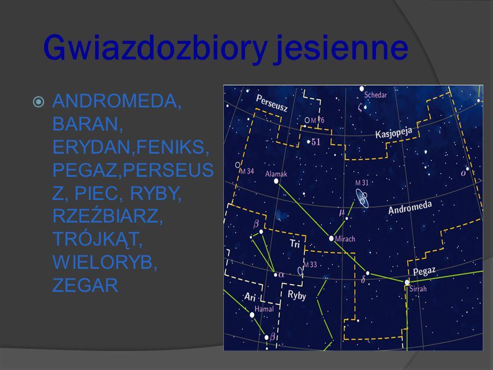 Gwiazdozbiory jesienne