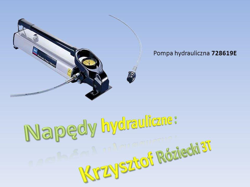 Napędy hydrauliczne : Krzysztof Róziecki 3T