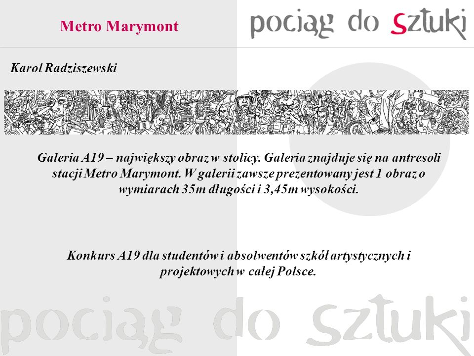 Metro Marymont Karol Radziszewski