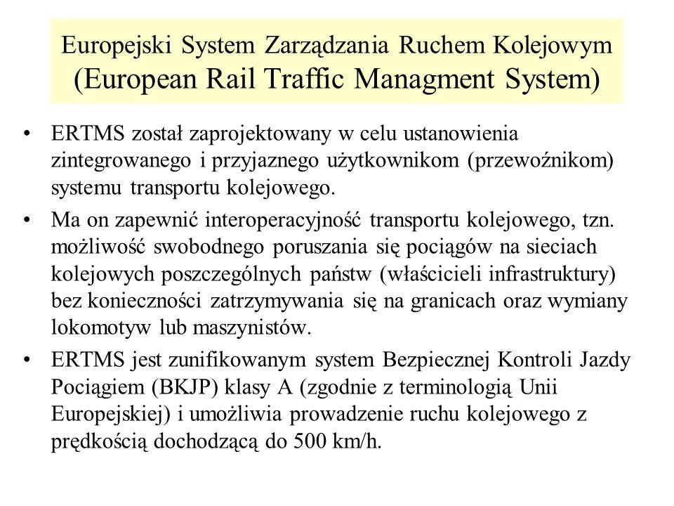 Europejski System Zarządzania Ruchem Kolejowym (European Rail Traffic Managment System)
