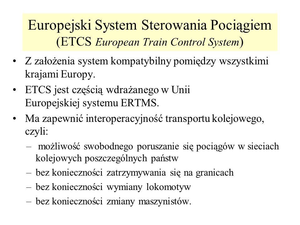 Europejski System Sterowania Pociągiem (ETCS European Train Control System)