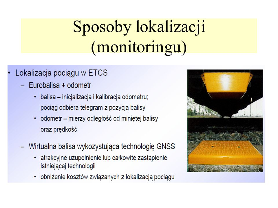 Sposoby lokalizacji (monitoringu)