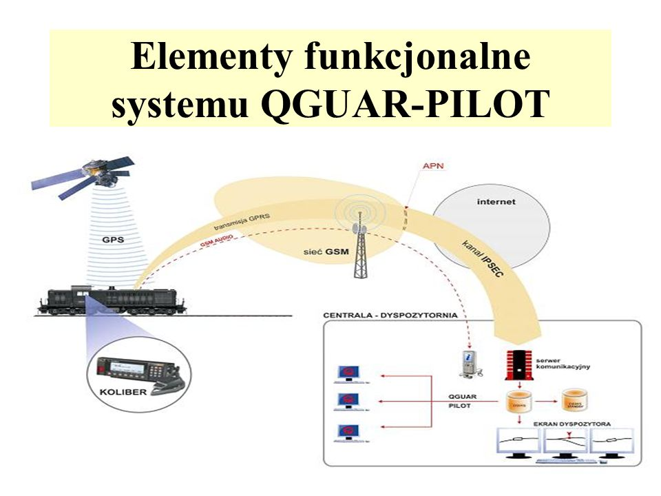 Elementy funkcjonalne systemu QGUAR-PILOT