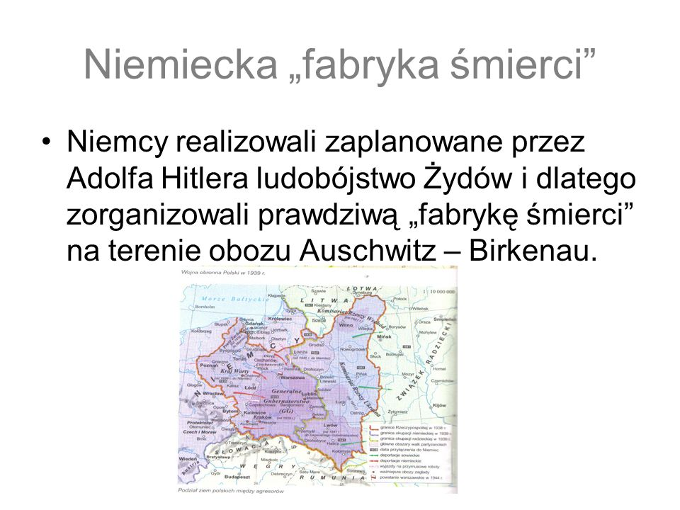 """Niemiecka """"fabryka śmierci"""