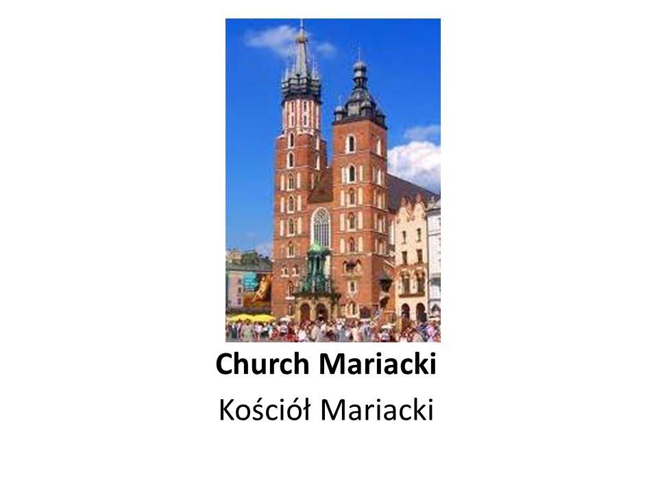 Church Mariacki Kościół Mariacki
