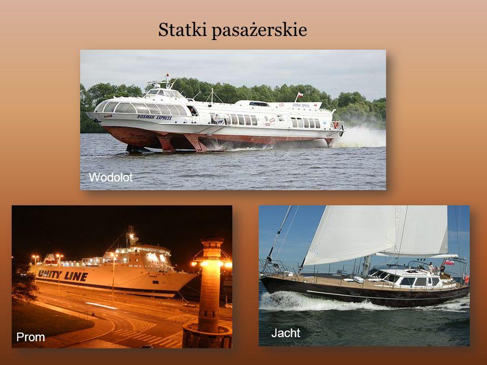 Statki pasażerskie Wodolot Jacht Prom
