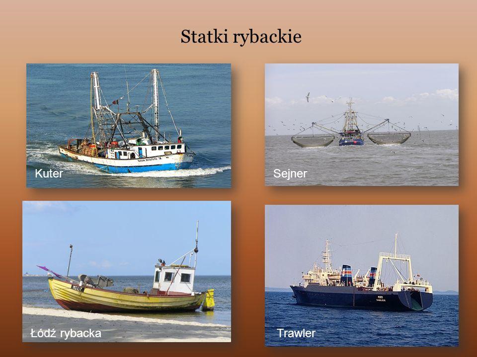 Statki rybackie Kuter Sejner Łódź rybacka Trawler