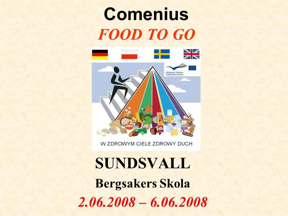 SUNDSVALL Bergsakers Skola 2.06.2008 – 6.06.2008